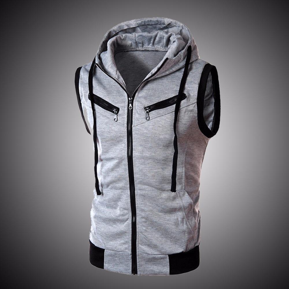 super chaleco deportivo casual hoodie zipper moda japonesa. Cargando zoom. acb3e977417f