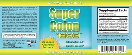 super colon cleanse 1800, dr. oz pure cleanse, limpieza, usa