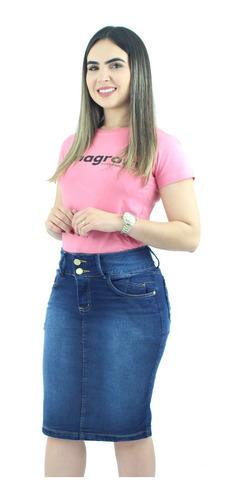 super combo 2 saias jeans para evangélicas