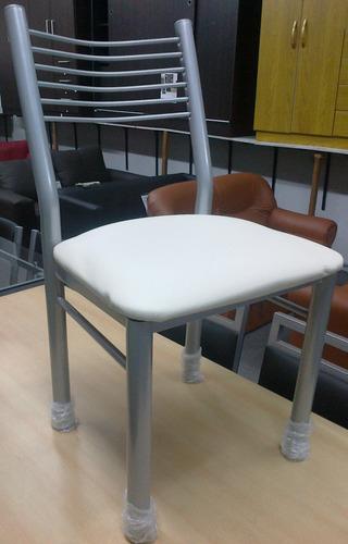 super combo de mesa nevada 150x80 con 6 sillas celine!!!
