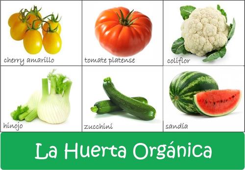 super combo semillas orgánicas para huerta! 40 sobres!!!!