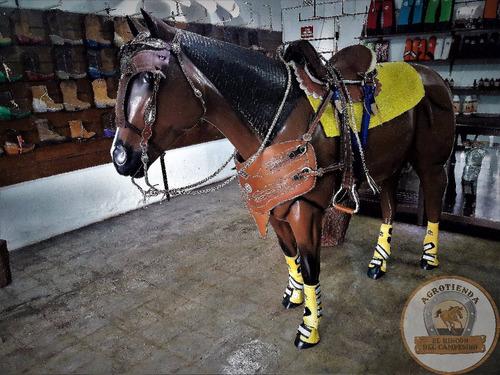super combo silla aperos caballos coleo mayatex