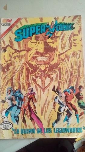 super comic no.2-314 comic tamaño aguila novaro año-1983