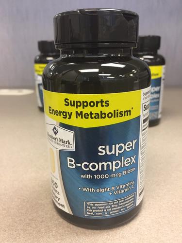 super complejo b, 300 pastillas, members mark - americano