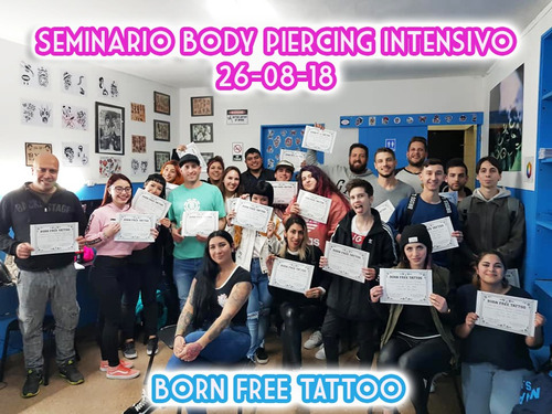 super curso intensivo piercing, microdermal y escarificacion