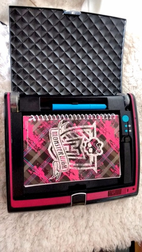 super diario secreto monster high - mattel - semi-novo