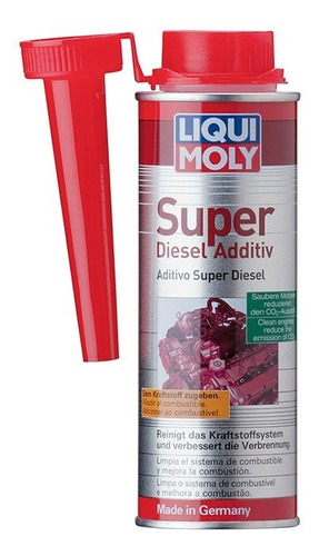 super diesel additive liqui moly limpia inyectores  2504