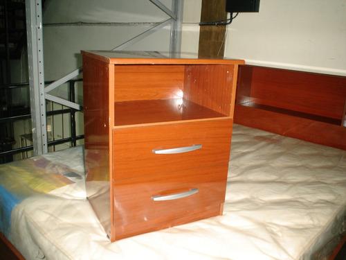 super dormitorio!cama c/repisa 140 +2 mesas de luz!imbatible