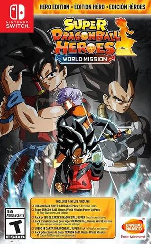 super dragon ball heroes hero edition nintendo switch nuevo