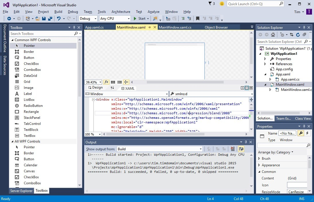 Microsoft Visual Studio 2015