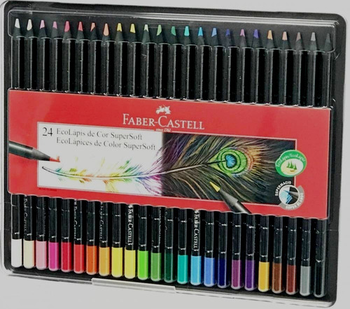 super ecolapices faber castell supersoft x24 soft