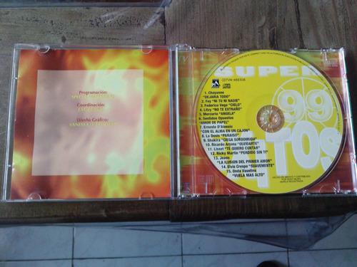 super exitos 99 fey, litzy, shakira, cd unica ed 1997. idd