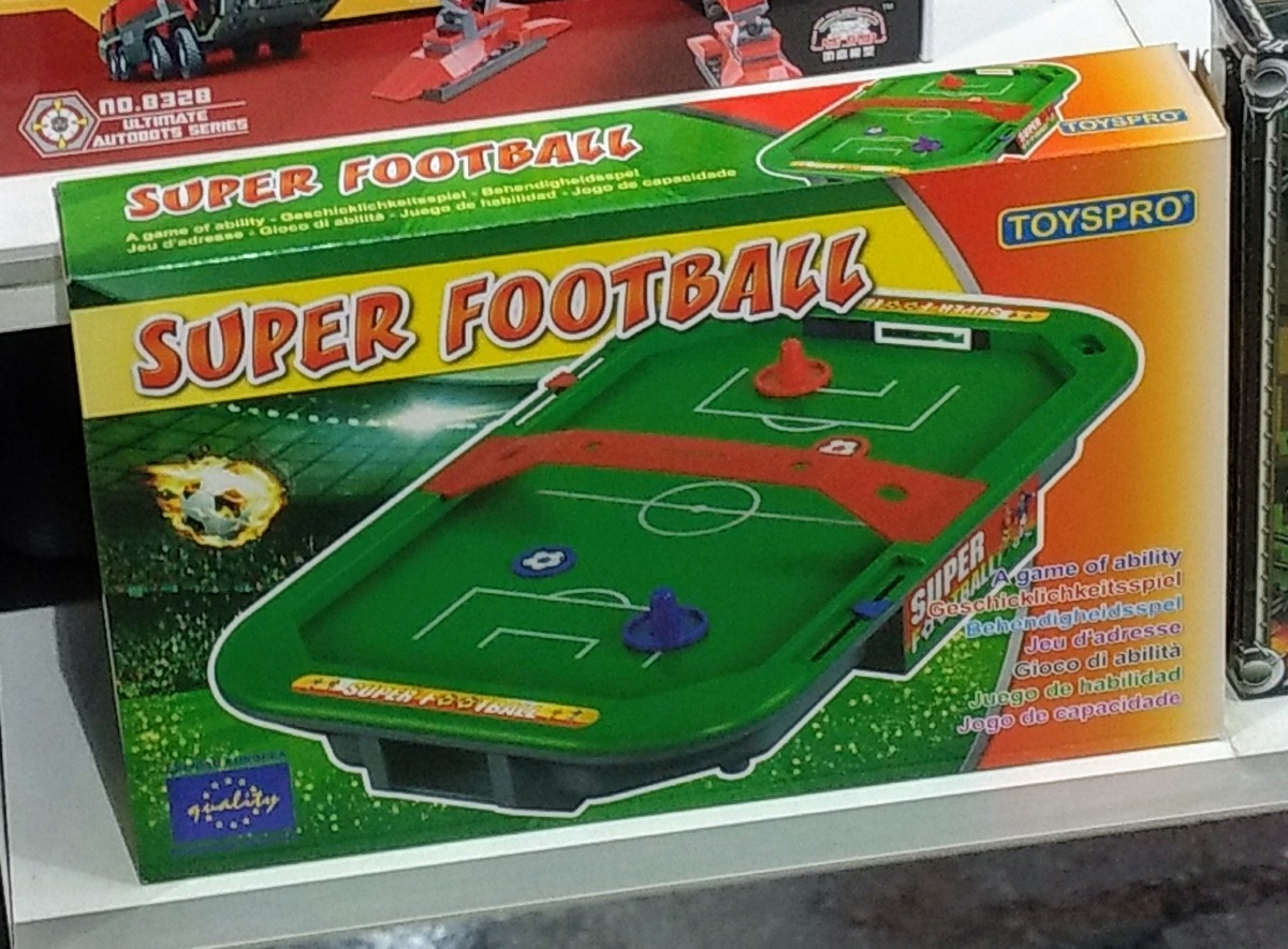 Super Football Mesa Futbol Para Ninos Estilo Hockey 599 00 En