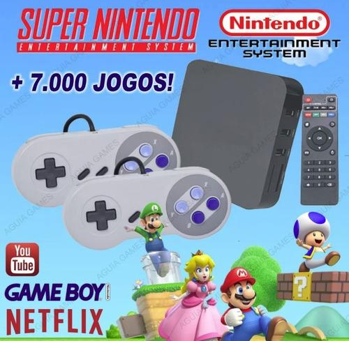 super game box - emulador super nintendo snes + 7.000 jogos