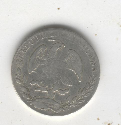 super ganga, 4 reales de méxico, año 1856 mo gf rarísima.