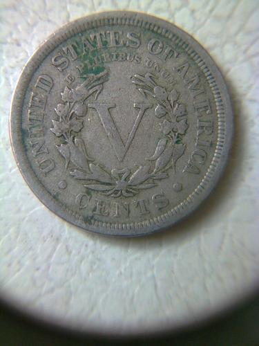 super ganga, 5 centavos liberty head, de los estados unidos