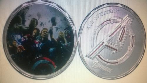 super ganga, moneda de la película los vengadores