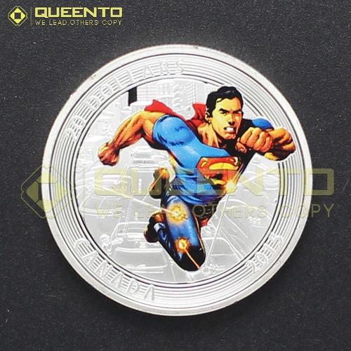super ganga monedas de super man, las mas recientes