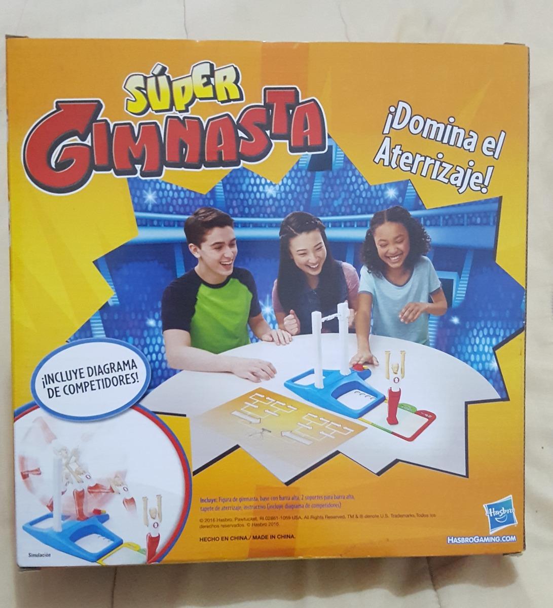 Super Gimnasta Juego De Mesa De Retos Original De Hasbro 329 00