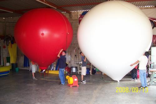 super globos aerostaticos ideales para tu publicidad