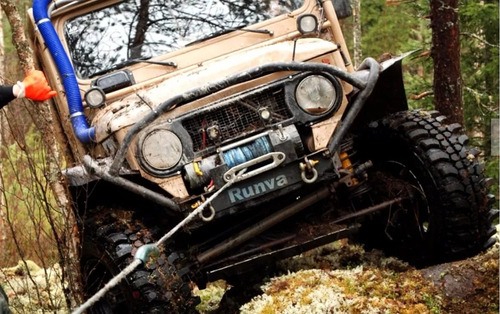 super guincho eletrico 12v 9500 4300kg quadri jeep c/ nf dsr