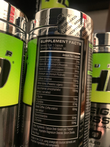 super hd cellucor (mercado envíos a tu cargo)