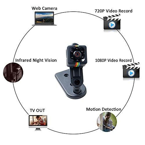 super hd mini cámara de la pequeña cámara lxmimi portáti