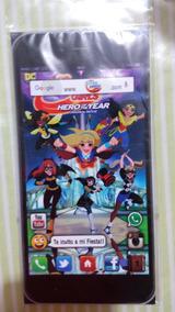 Super Hero Girls Harley Quinn 20 Ticket Phone Invitaciones