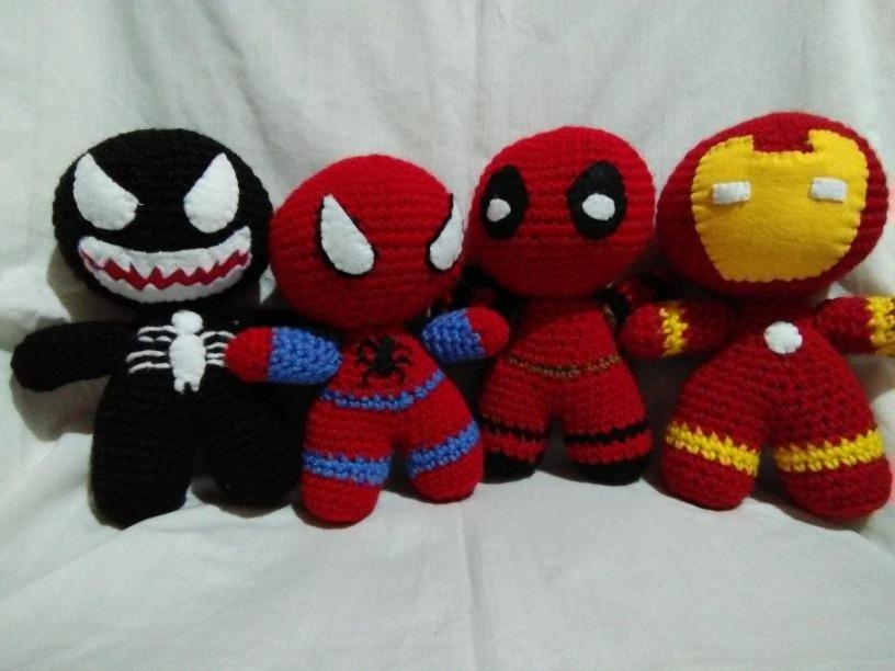Superhero Amigurumi Crochet Patterns Best Ideas (mit Bildern ... | 612x816
