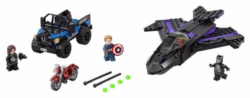 super héroes lego