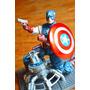 Capitan America Figura Articulada De Colección Vengadores