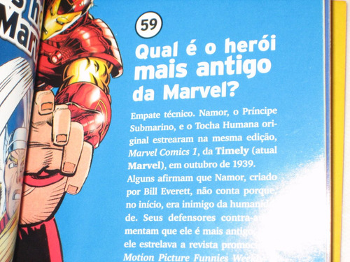 super-heróis - coleção 100 respostas - nº2  - mundo estranho