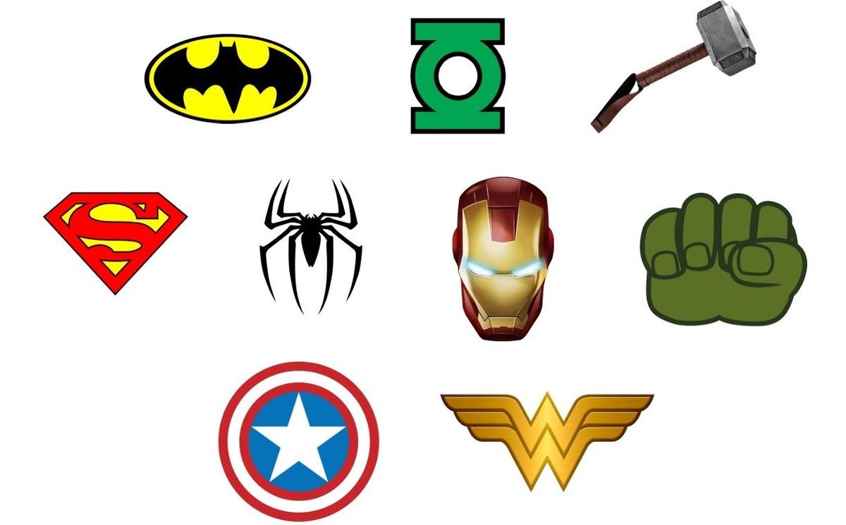 Super Herois E Os Vingadores Tag Aplique Recorte Scrap R 15