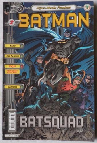 super-heróis premium batman  nº 2