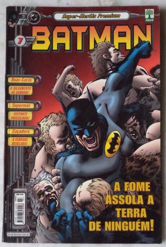 super-heróis premium batman  nº 7