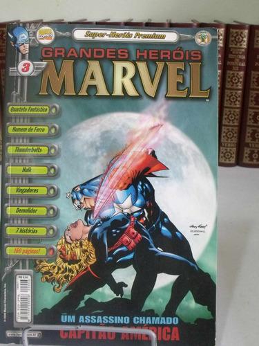 super-heróis premium nº3 - marvel