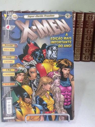 super-heróis premium nº4 - x-men
