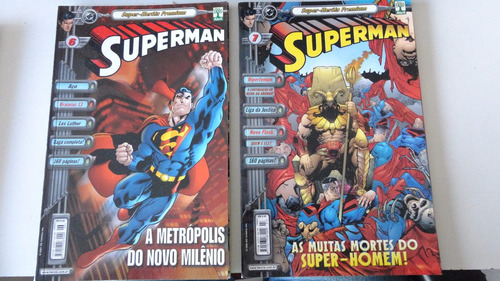 super-heróis premium superman nºs 1 ao 20