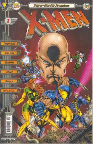 super-heróis premium x-men nº 1 perfeita