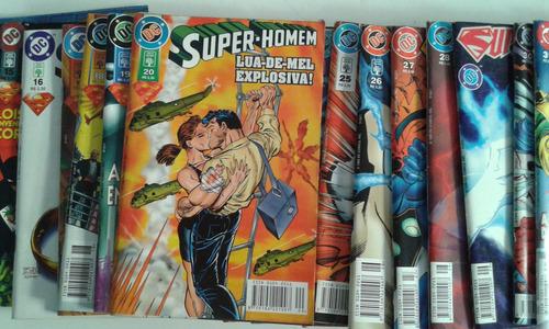 super-homem 2ª série - n° 10 ao 33
