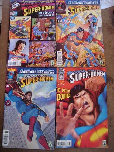 super-homem 2º série nºs 1 ao 45  ed abril