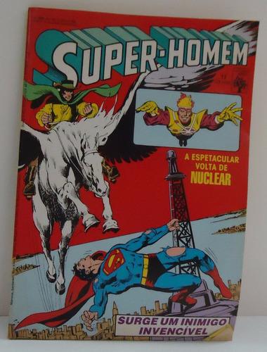super-homem nº 17 - 1985 ed. abril - by trekus vintage