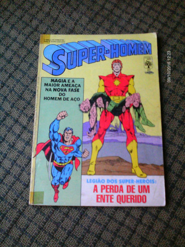 super homem n. 27 (1* serie)  ed. abril (formatinho)