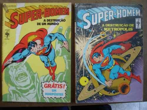 super-homem nºs 27 ao 125 ed. abril
