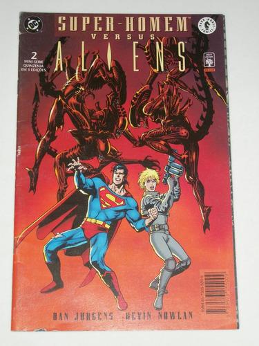 super-homem versus aliens - mini-série completa