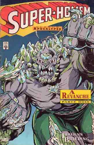super-homem versus apocalypse - nºs 1  e 2