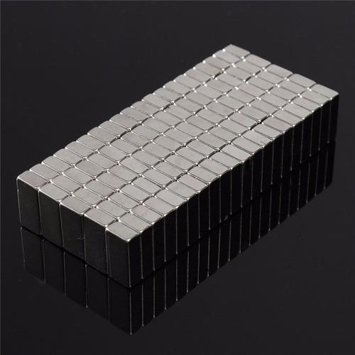 super ímã neodímio extra potente aderente n50 200pç 10x5x3mm