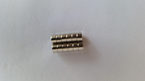super ímã neodímio superpotente 10 pçs ø5x 3mm