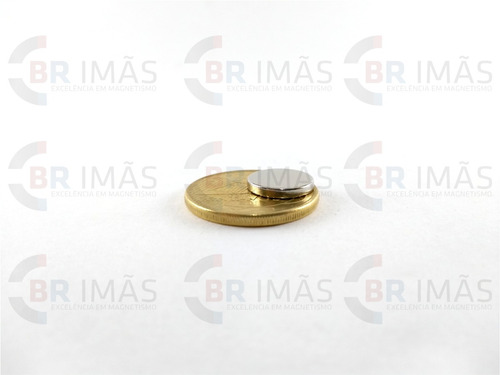 super ima neodímio - 10 peças - ø12,5mm x 2mm - pastilha
