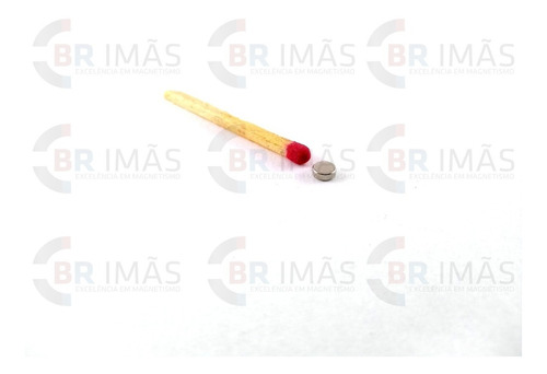 super ima neodímio - 100 peças - ø4mm x 1,5mm - pastilha